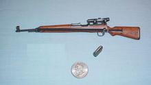 Miniature 1/6 WW2 German G43 sniper rifle 32