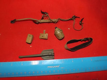 1/6 Scale TUS WWII US Belt, Suspenders, Canteen, Etool & more