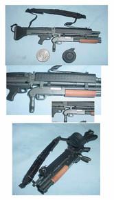 Miniature 1/6th Scale M60 w/ Masterkey Shotgun