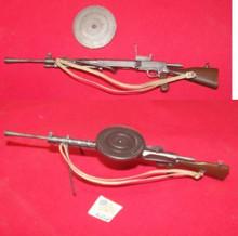 Miniature 1/6 Scale WW2 Russian Machine Gun w/Round Clip