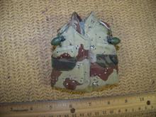 Miniature 1/6th Scale Desert Camo Vest & 2 Grenades #1
