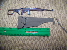 Mini 1/6 WW2 U.S. Para M1 Carbine w/folding stock & case