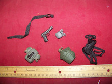 1:6 Scale Dragon Pistol, Holster, Clip Pouch & more