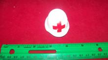 Miniature 1/6th Scale WWII German Medic/Red Cross Helmet #1