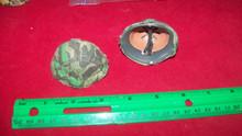 Miniature 1/6th Scale WWII German Helmet w/Camo Cover #3 Splinter