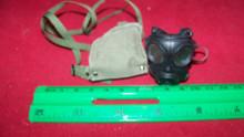 Miniature 1/6th Police SAS Army Gas Mask  & Bag #10