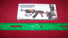 Miniature 1/6th Scale AK74 W/Launcher Kit MIB
