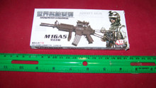 Miniature 1/6th Scale M16A5 w/Scope Kit MIB