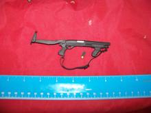 Miniature 1/6th Scale Mossberg Shotgun w/moving Grip & Folding stock w/shell