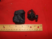 Miniature 1/6th WWII US Army Gas Mask & Bag #5