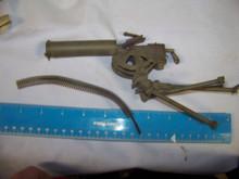 Miniature 1/6th Scale WWII US  M1917 .30 cal Machine Gun & Ammo Strip