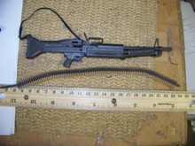 Miniature 1/6th  Scale M-60 Machine Gun & More