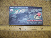 Miniature 1/6th Scale Cheytac M200 w/Scope Kit MIB free myster pistol