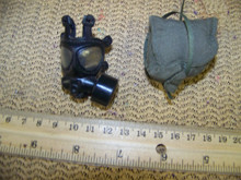 Miniature 1/6th Police SAS Army Gas Mask & More #9