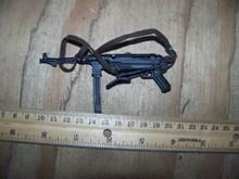 MINIATURE 1/6 WW2 GERMAN Metal MP40 MACHINE GUN #1