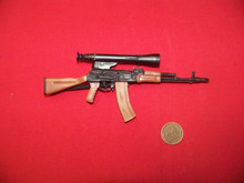 Miniature 1/6th Scale AK-74 with scope