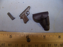 Miniature 1/6th Scale German Pistol & Holster #2
