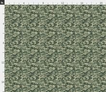 "1/6th Scale ACU UCP Dark Shade Camo Material 18"" x 14"""
