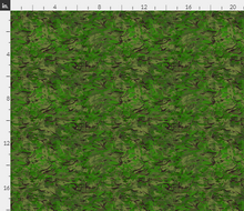 "1/6th Scale Multi Terrain Pattern 'MTP' Woodland Variation Camo Material 18"" x 14"""