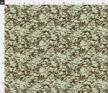 "1/6th Scale Multi Terrain Pattern 'MTP' Desert Variation Camo Material 18"" x 14"""