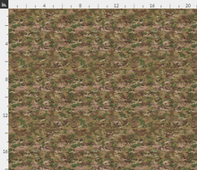 "1/6th Scale Multicam OCP Camo Material 18"" x 14"""