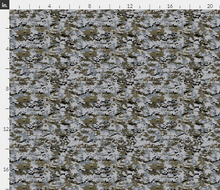 "1/6th Scale Multicam Urban Camo Material 18"" x 14"""