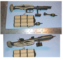 Miniature 1/6 WW2 British PIAT Anti Tank Bazooka #1 No shoulder Pad