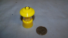 1:6th Scale Light Up B/O Camping Light Yellow Coleman