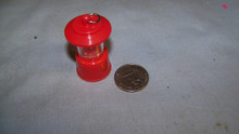 1:6th Scale Light Up B/O Camping Light Red Coleman