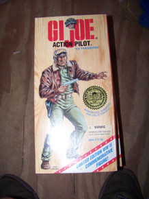 """12"""" GI Joe Action Pilot Action Figure WWII AA 50th Anniversary Numbered Edition"""