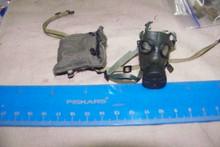 Miniature 1/6th Police SAS Army Gas Mask & Bag #11