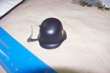 Miniature 1/6th Scale WWII German Metal SS Helmet #3