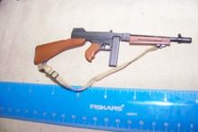 Miniature 1/6 WWII U.S. Thompson Tommy Gun SMG  31