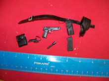 Miniature 1/6th Scale Police Belt, Pistol, Holster & More #4