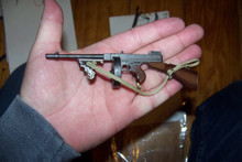 Miniature 1/6th Scale WWII US Thompson M1928A1 SMG w/drum Clip