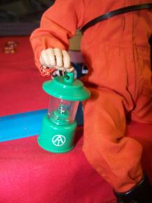 1/6th Scale  GI Joe Adventure Team Lantern Light Up Green