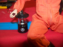 1/6th Scale  GI Joe Adventure Team  Black Lantern Light Up