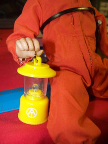 1/6th Scale  GI Joe Adventure Team Yellow  Lantern Light Up