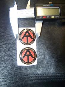 2 x GI Joe 50th Ann. Adventure Team 3-D Domed Sticker