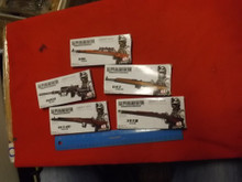 5 x 1/6th Boxed Rifle Kits Lot might need painted