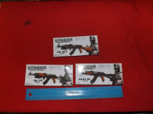 3 x 1/6th AK's Rifle Model kits Boxed Lot