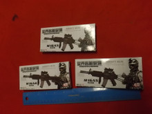 3 x  1/6th Rifle Model kits Boxed Lot