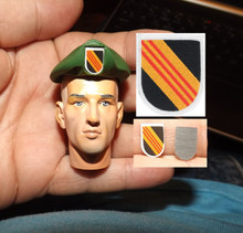 1:6 Scale 5th Special Forces Group Flash & Beret