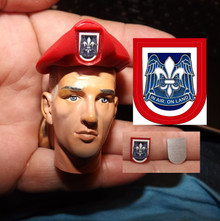 1:6 Scale 82nd Airborne Flash & Beret