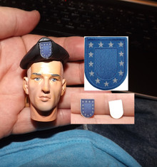 1/6 Scale Army Flash & Beret