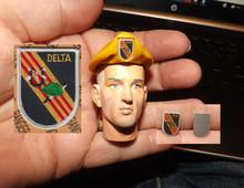 1:6 Scale Delta Force Flash & Beret