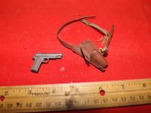 1/6 Scale Dragon WWII US 45 Pistol & Shoulder Holster Broken repaired