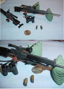 Miniature 1/6 Scale PSG1 Rifle & More