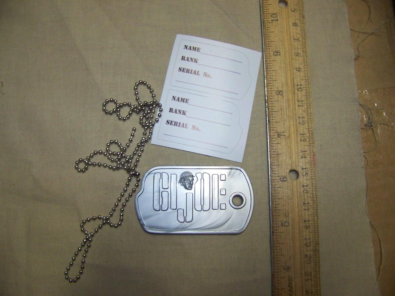 "1//6th scale repro Gi Joe footlocker Autocollant 60/""s"