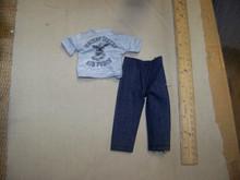 1/6th Scale Blue Jean W/T-Shirt